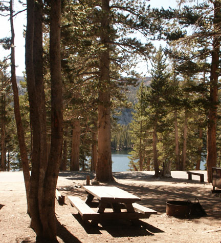 Lake George Campground Mammoth Lakes Area East Slopes