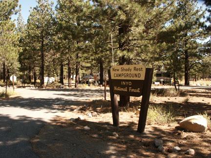 ... New Shady Rest Campground Area: Mammoth Lakes Area. NewShadyCamp.jpg